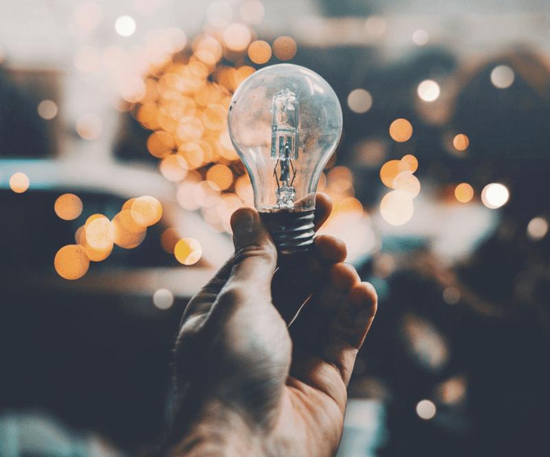 A close encounter with a bright idea