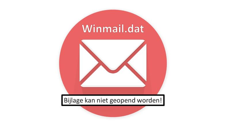 Winmail.dat bijlage